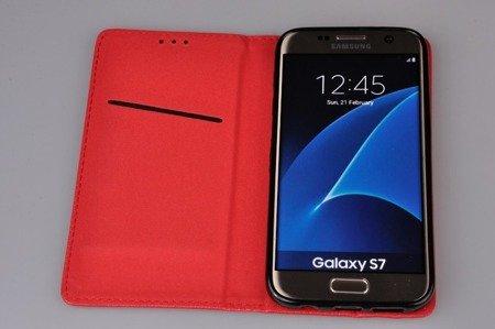 EtuiI Smart W1 do SAMSUNG Galaxy S7 G930 czerwony