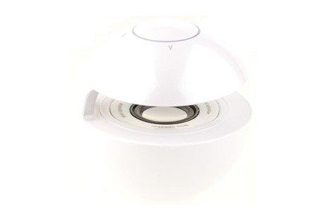 Głośnik Bezprzewodowy Bluetooth Led MP3 microSD AUX biały