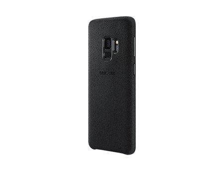 Oryginalne Etui Alcantara Cover do SAMSUNG Galaxy S9 G960 czarny