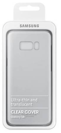 Oryginalne etui Clear Cover do Samsung Galaxy S8 fioletowe