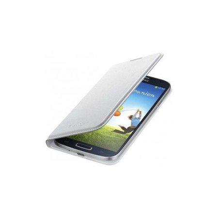 Oryginalne etui Flip Wallet do SAMSUNG GALAXY S4 I9505 I9506 I9515 biały