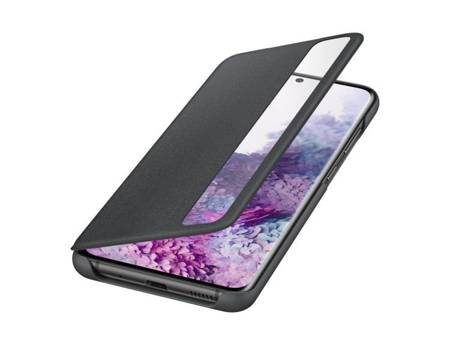Oryginalne etui Smart Clear View Cover do Samsung Galaxy S20 / S20 5G czarny