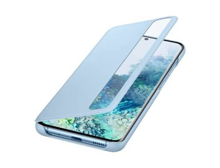 Oryginalne etui Smart Clear View Cover do Samsung Galaxy S20 / S20 5G niebieski