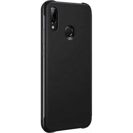 Oryginalne etui Smart View Flip Cover do HUAWEI P20 Lite czarny