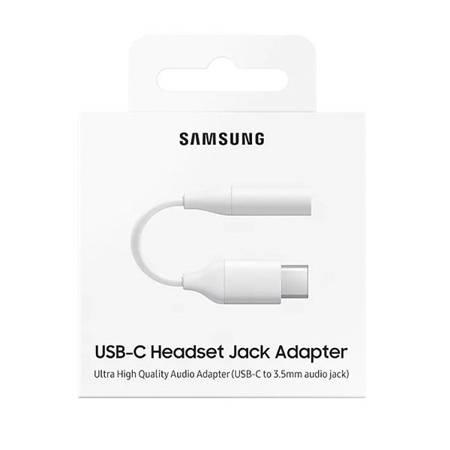 Oryginalny kabel Adapter Samsung USB C do mini jack 3,5mm