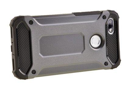 Pancerne etui Armor TPU +PC do HUAWEI P9 Lite Mini szary