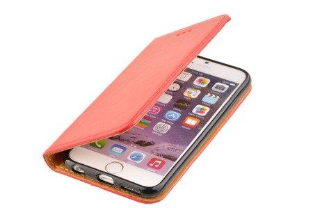 SKÓRZANE ETUI BOOK COVER do APPLE iPhone 6 / 6S czerwony