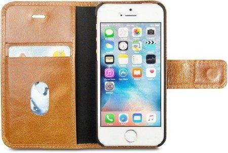 Skórzane etui kabura dbramante1928 Copenhagen do Apple iPhone 5 / 5S / SE brązowy