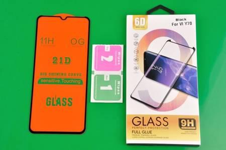 Szkło hartowane 6D do Vivo Y70