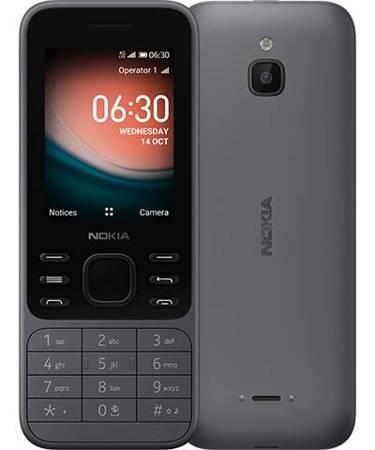 Telefon komórkowy Nokia 6300 4G szary